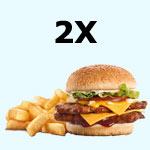 Dva burgery za odměnu